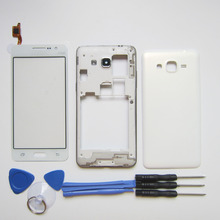 Middle Frame Chassis + Battery Cover Housing Case For Samsung Galaxy Grand Prime G530 & touchscreen & tools kit