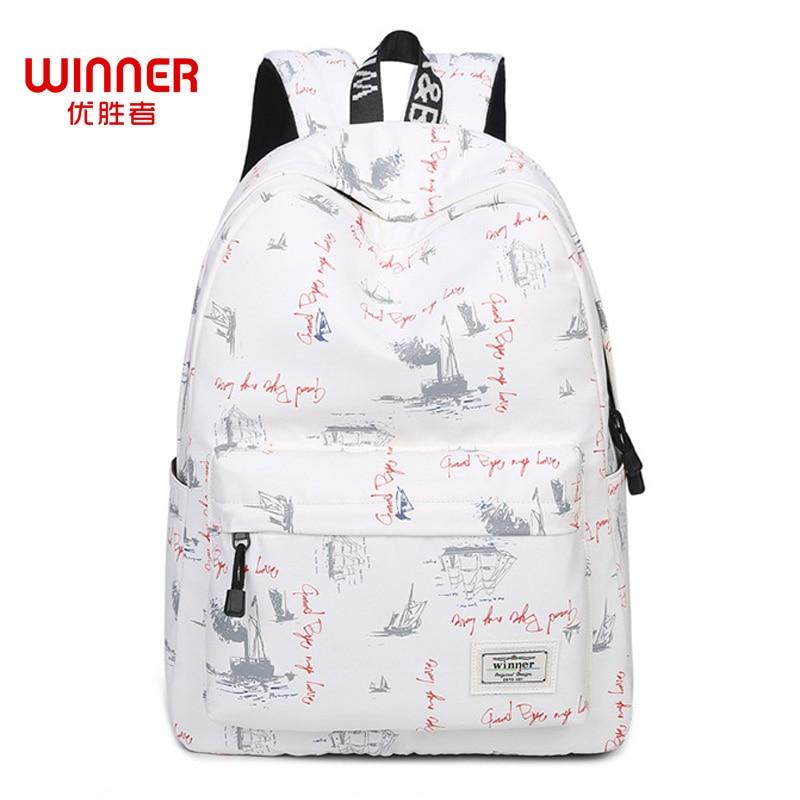 WINNER Fashion Backpack Women Children Schoolbag Back Pack Ladies Knapsack Laptop Travel Bags for School Teenage Girls 2018