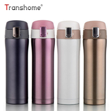 Transhome Thermos Thermal Cup 450ml Vacuum Flaconi Thermos in acciaio inox Thermos Thermos Cup Thermos Mug Travel Drink