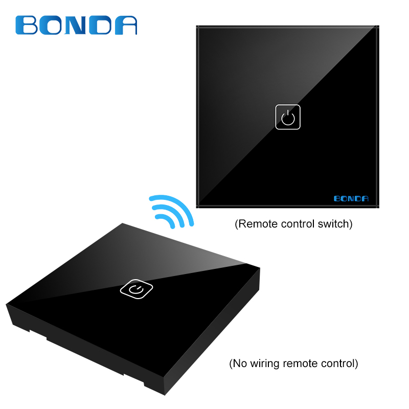 BDNOA EU/UC The smart home touch switch induction type non-woven wire is randomly attached to the toughened glass panel through non woven fabrics hanging type 18 cd dvd card holder beige