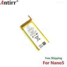 Antirr Original new Replacement Battery For ipod Nano5 5G 5th Generation MP3 Li-Polymer Rechargeable Nano 5 616-0467 Batteries