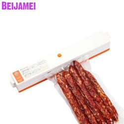 Beijamei 220V/110V Household Vacuum Food Sealers Packaging Machine Electric Small Film Sealer Vacuum Packer Saver Price
