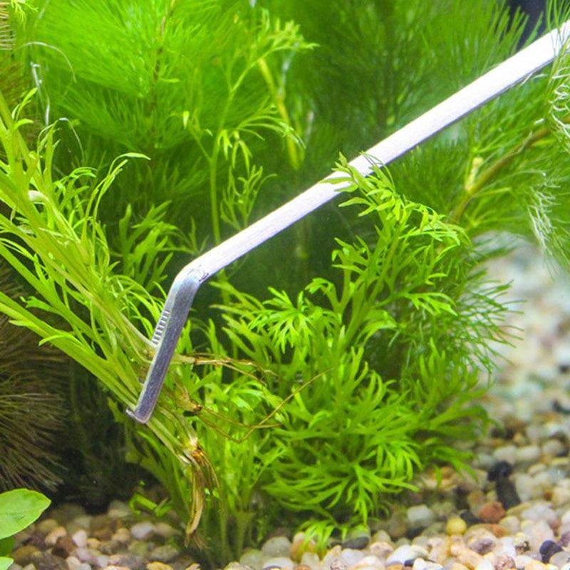 3/5pcs Aquarium Maintenance Tools Kit Tweezers Scissors For Live Plants Grass 1