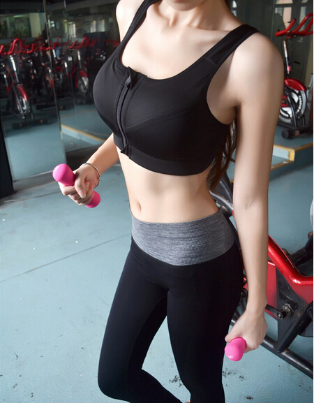 Sports Suits Women Running Fitness Gym Capri Cropped Pants Bottoms Bra Tank Tops Brand Suit Joggers Stretch Clothes Set - Honey Fashion Heart store