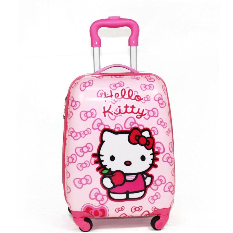 Djeca potezna kutija PVC Spinner 16-inčni 20-inčni dječji kofer za - Torbe za prtljagu i putovanje - Foto 4