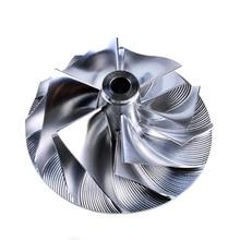Kinugawa Turbo Billet Compressor Wheel 46.41/60.25mm 6+6 for Garrett TA31 409096-0013 цены