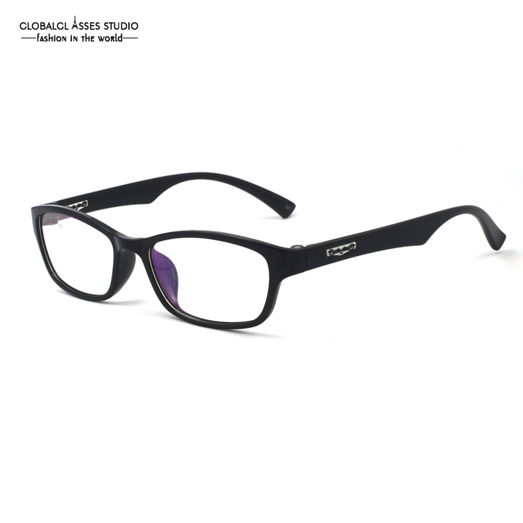 cool eyewear 01kv  Ultra Light Flexible Glasses Frame Men/Women Black Color Cool Geek Hinge  For Unisex/
