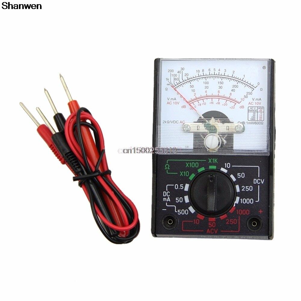 Mini Electric Ac Dc Ohm Voltmeter Ammeter Multi Tester Mf 110a Digital Multimeter Circuit Multitester