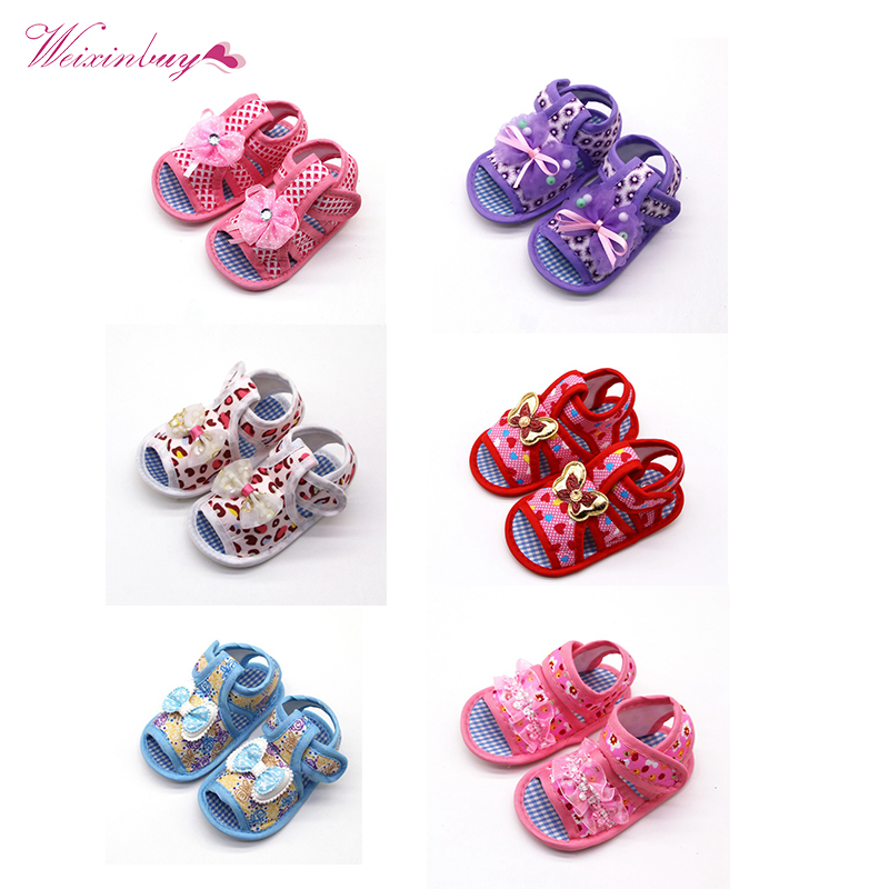 Baby Shoes Sneaker Canvas Soft-Sole Girls Princess for Mixed-Color Crib Comfortable Gift