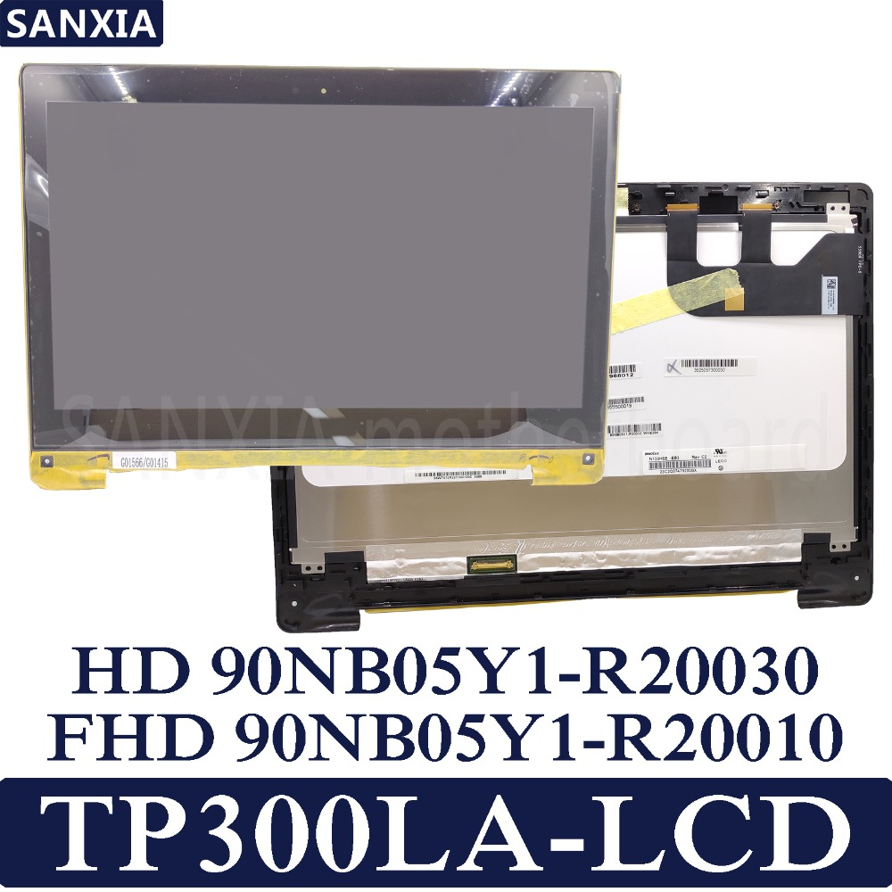 KEFU TP300LA-1A <font><b>13.3</b></font> S Laptop Tablet Panel For ASUS TP300LA LCD Screen <font><b>display</b></font> Combo LCM image