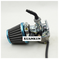 XUANKUN Off Road Motorcycle Accessories 110 125CC PZ19 Carburetor Air Filter Assembly