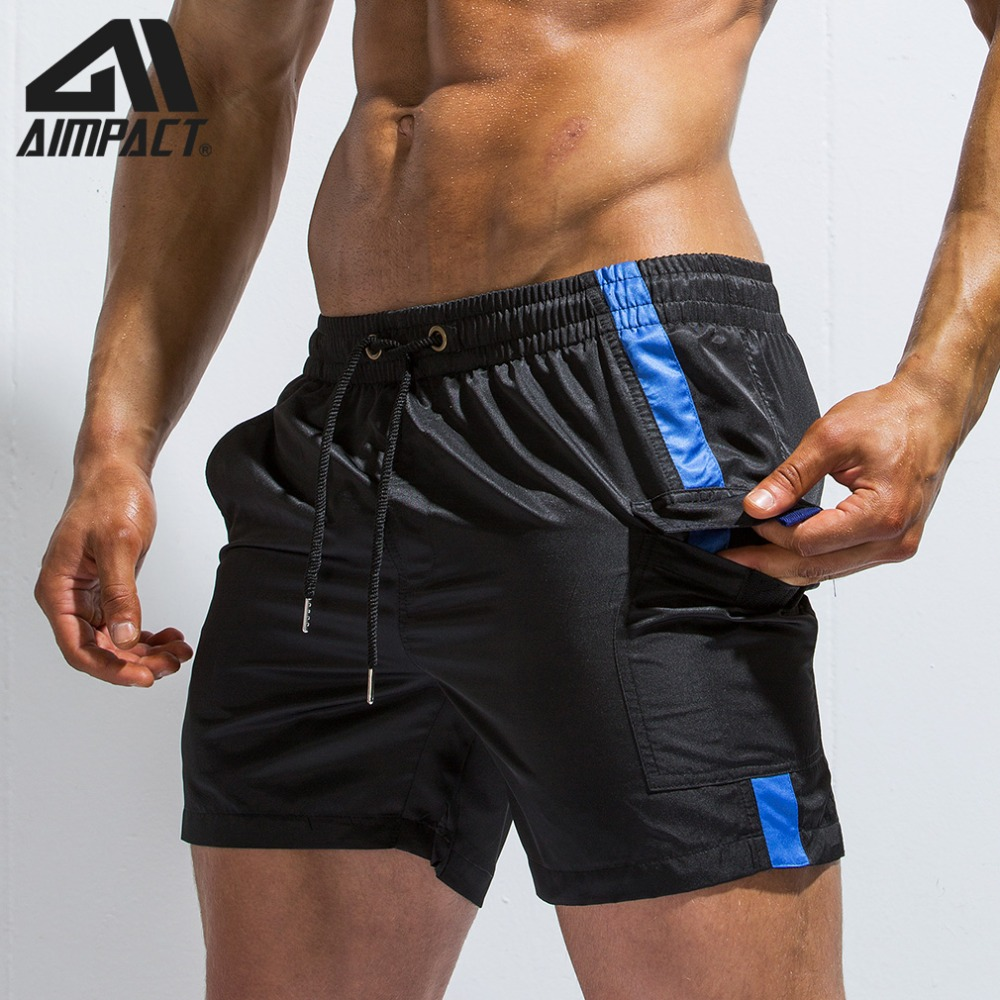 New Aimpact Patchwork Men's   Board     Shorts   Summer Holiday Fast Dry Beach Surfing Swimming Trunk Sport Running Hybird   Short   AM2171