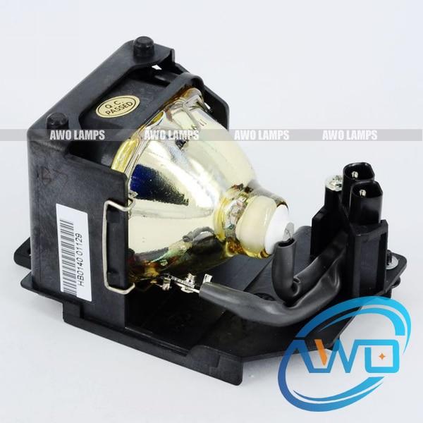 RLC-004 compatible lamp with housing for VIEWSONIC PJ400/PJ400-2/PJ452/PJ452-2