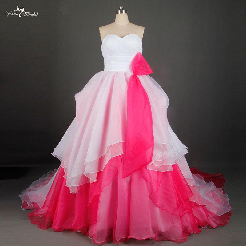 Popular japanese wedding dress buy cheap japanese wedding for White and pink wedding dress