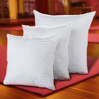High Quality Cotton Cushion Bolster Square Pillow Interior Factory Wholesale Cheap Price 40 40 45 45