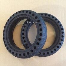 Долговечная шина для Xiao mi jia M365 mi скутер шины с твердым отверстием шины амортизатор непневматические шины демпфирующие резиновые шины колеса