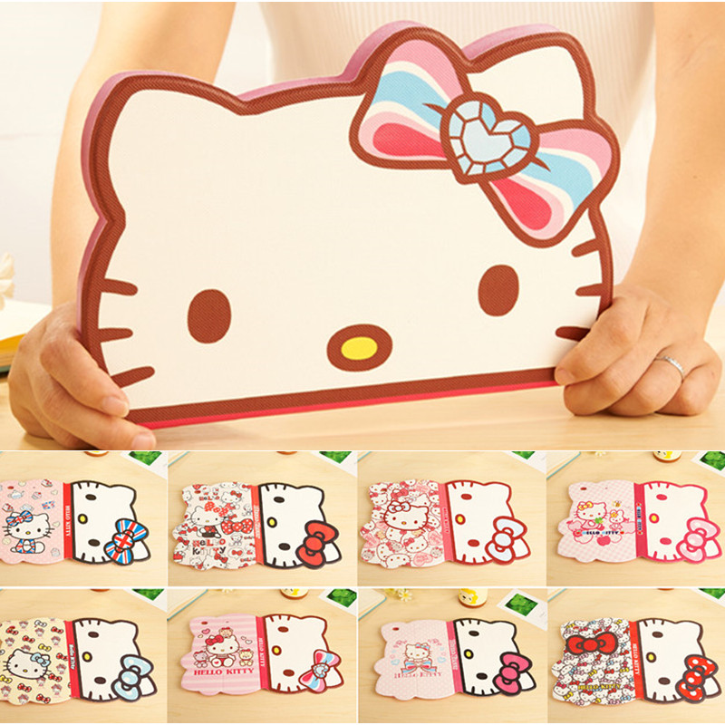 Cute Hello Kitty Case For iPad Mini 4 KT Cover Stand Leather For Apple iPad Mini4 Case Tablet Protective Cover Fundas Coque