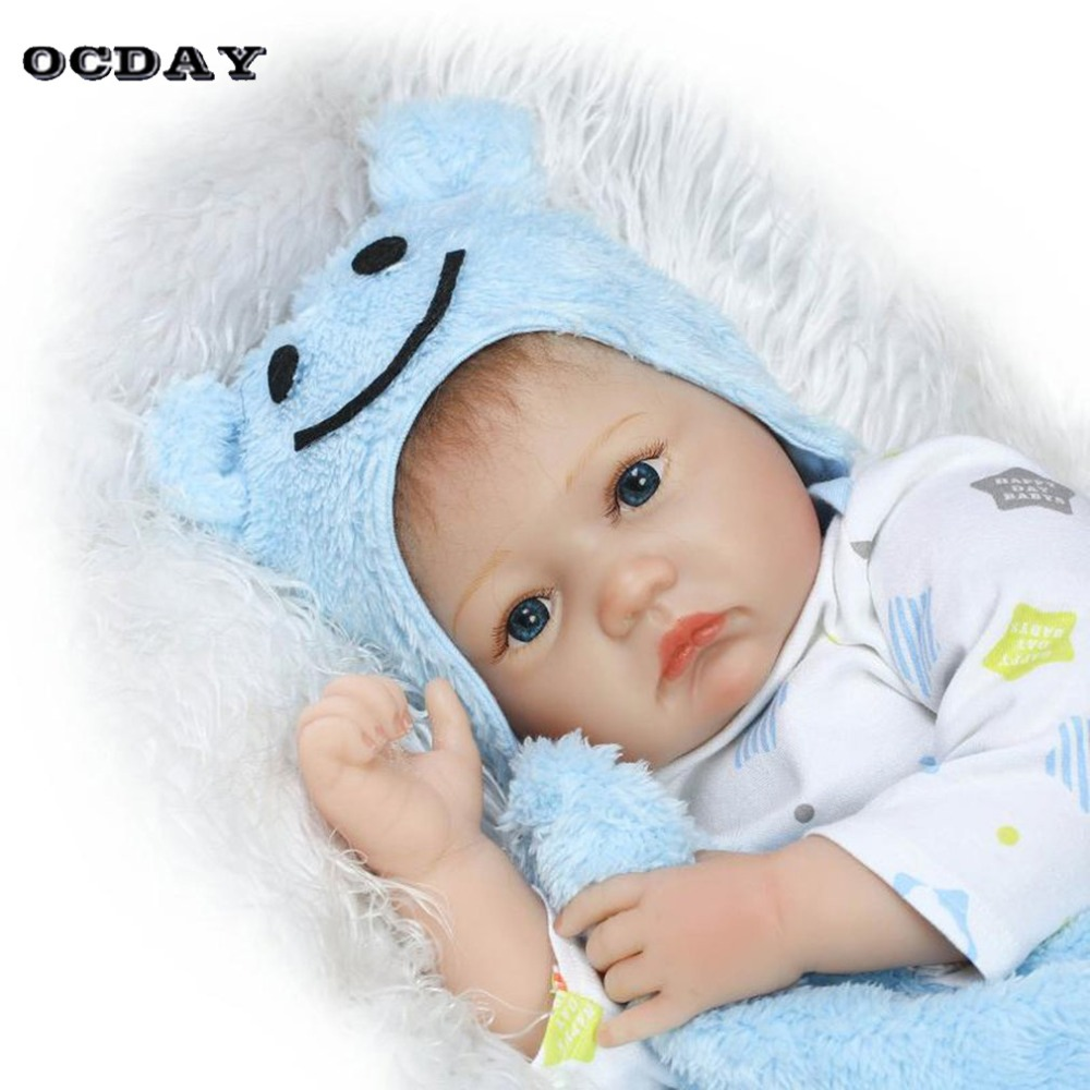 55cm Children Reborn Play Doll Toys Cloth Body Soft Silicone Vinyl Baby Boy Doll Non-toxic Toy Handmade Lifelike Newborn Dolls darril gibson microsoft sql server 2008 all in one desk reference for dummies