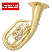 Оригинальный JinBao бренд Подлинная JBEP 1110 плоский ключ euphonium Bb Музыкальные инструменты Professional туба группа латунь