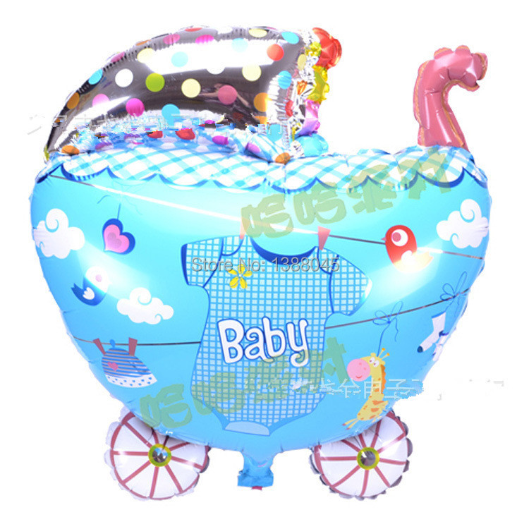 6pcslot Baby Shower Boy Helium Foil Balloons Baby Shower Balloon
