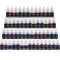 Tatuaje Solong Tinta Del Tatuaje Del Pigmento (8 ml) 54 Color de La Ametralladora Del Tatuaje Kit TI2001-8-54