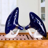 12 Hole Ocarina Instrument Ceramic Alto C Legend Of Zelda Ocarina Flute Blue Of Time In