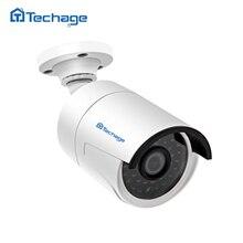Techage H.265 4.0MP 48 V POE IP CCTV Cámara 2592*1520 ONVIF IR Al Aire Libre de Interior Impermeable HD de Vídeo de Seguridad Cámara de vigilancia