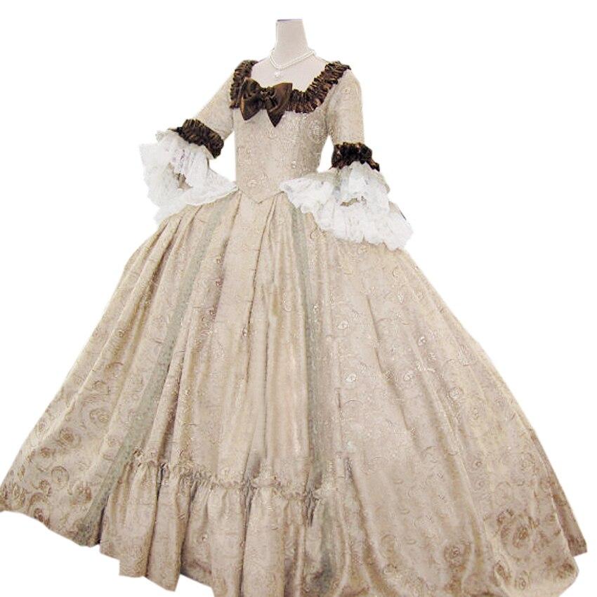 Popular colonial wedding dresses buy cheap colonial for Denim wedding dresses for sale