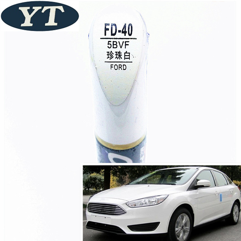 Car Scratch Repair Pen, Auto Paint Pen WHITE Color For Ford Ecosport,kuga, Focus,s-max,fiesta ,car Painting Pen