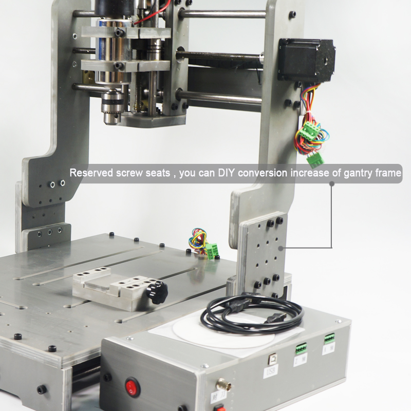CNC 3040 Machine 3axis MINI Router PCB milling cnc 5axis a aixs rotary axis t chuck type for cnc router cnc milling machine best quality