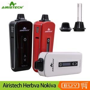 Image 1 - Original Airistech Herbva Nokiva Dry Herb Vaporizer Kit 2200mAh Battery Ceramic Chamber Heating Herbal Vape Pen Vaporizer