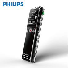 Philips Dry Battery AAA Digital Voice Recorder Long distance 40M  With Wireless MIC Activated Detacphone VTR6200