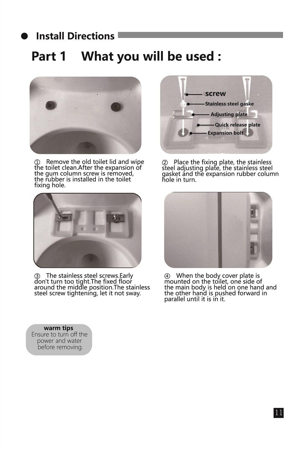água da casa inteligente da dobradiça wc
