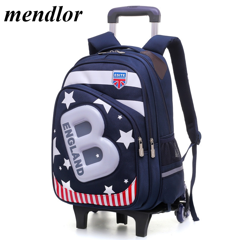 New Kids 6 Wheels Removable Trolley Backpack Wheeled Bags Children School Bag for Boys Girls Travel Bags Child School BackpackNew Kids 6 Wheels Removable Trolley Backpack Wheeled Bags Children School Bag for Boys Girls Travel Bags Child School Backpack