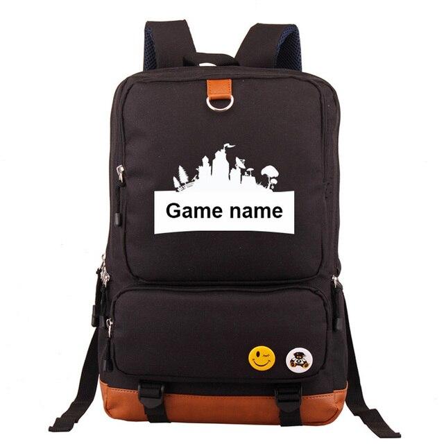 eaa08e1b22df Battle Forni Hot Games Roblox Boy Girl Children School Bag Women Bagpack  Teenagers Schoolbags Canvas Men
