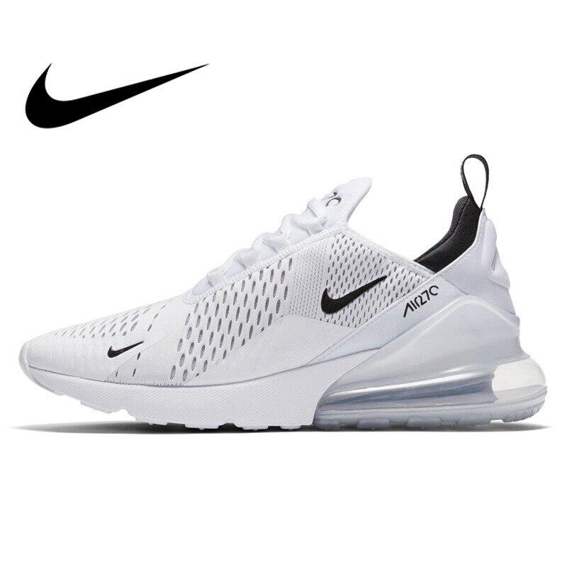 Оригинальный NIKE AIR MAX 270 для мужчин's кроссовки 10 км 2018 Новое поступление Спортивная обувь для мужчин AH8050