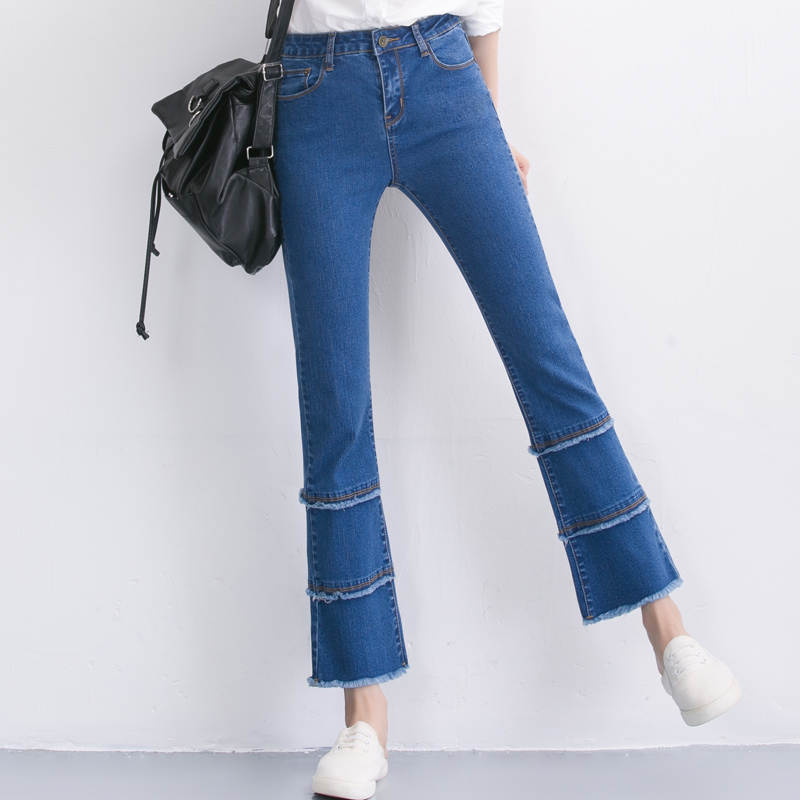 Compare Prices on Stretch Denim Capris Elastic Waist- Online ...