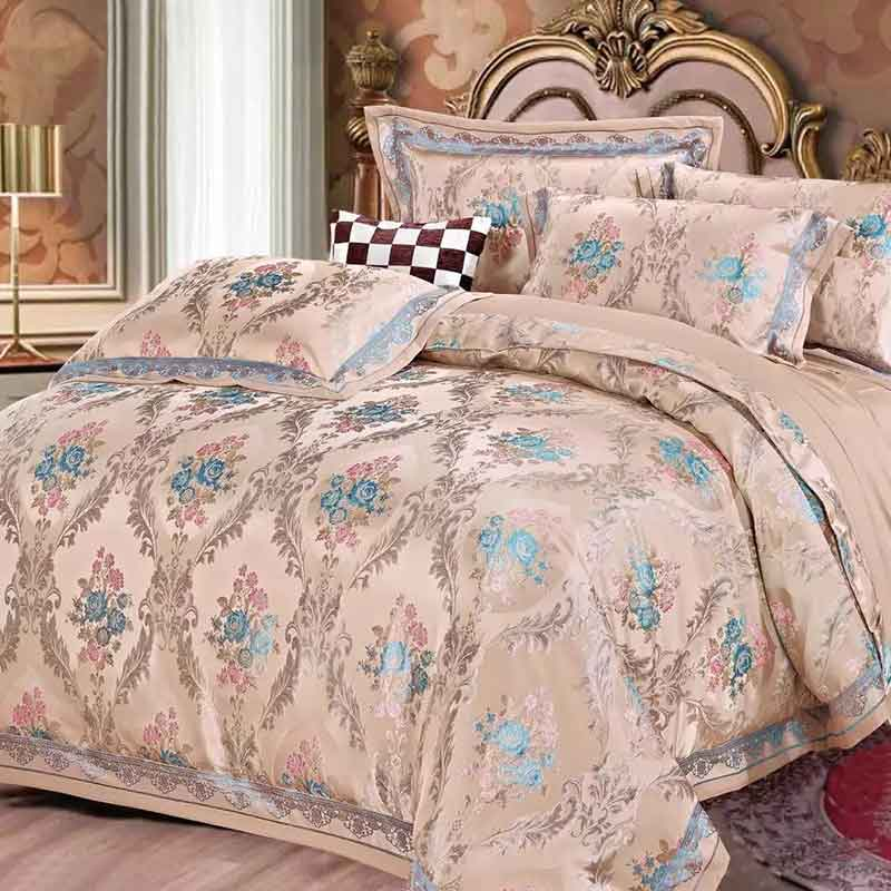 Hot Sale Designer Luxury Bedding Set Jacquard Comfortable