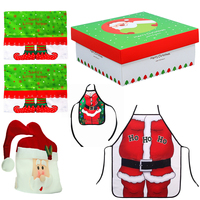 Merry Christmas Ornaments Party Decoration DIY Supprising Gift Set Christmas Decorations for Home