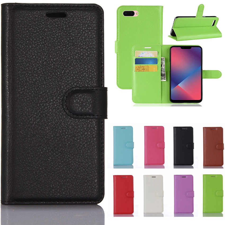 best service ab249 9e25a Oppo f7 youth case oppo realme 1 back Cover PU Leather Back Cover Phone  Case OPPO Realme 1 Realme1 One CPH1859 CPH1861 Case Flip