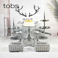 Baby Show Display Decorating Supplies Tool Dessert Plate Pop Rack Wedding Metal Cake Stand 3 Tier