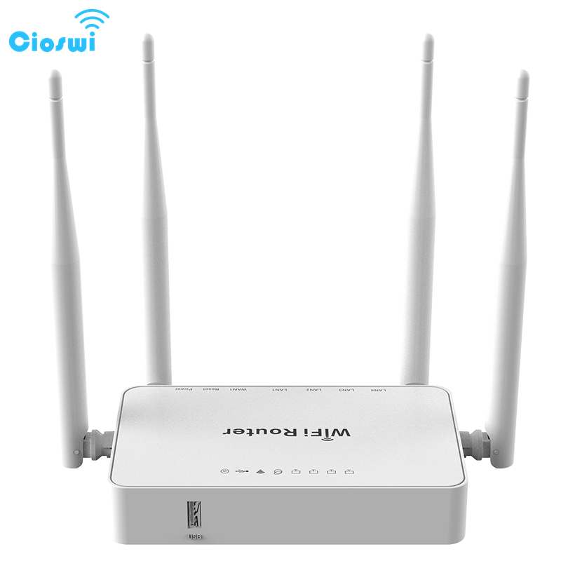 Cioswi High Quality Chip MTK7628N Professional Home Wireless Wifi Router Strong And Stable Wifi Signal Good Heat Disspation