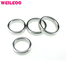 thickening smooth delay cock ring stainless steel penis ring cockring ball stretcher adult sex toys for men sex toys for couples