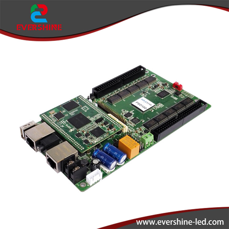 Nova PSD100 Full Color asynchronous led control card Novastar PSD100 rgb video USB / SD support led display controller bx 6q3 usb and ethernet port lintel full color led control card asynchronous video led sign controller 384 1024 512 768pixels