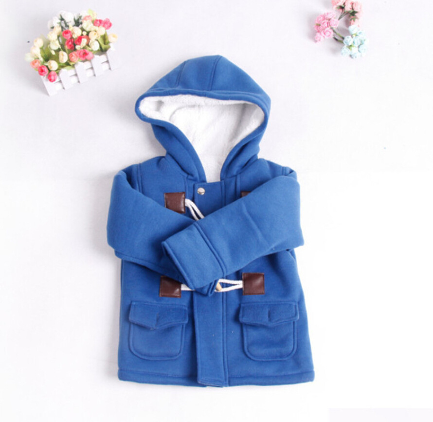 8d0320c4e New 2016 Baby Boys Children Outerwear Coat Fashion Kids Jackets for ...