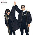 vancol 2016 casual russia winter couple clothing Plus size thick long cotton down coat female black winter jacket women parkas
