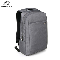 Kingsons Brand Air Bag Shockproof Backpack Large Space Laptop Backpack Men Women Computer Notebook Bag 15