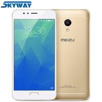 Original MEIZU M5S 4G LTE Cell Phone 3GB 16GB/32GB Global Firmware MTK6753 Octa Core 5.2