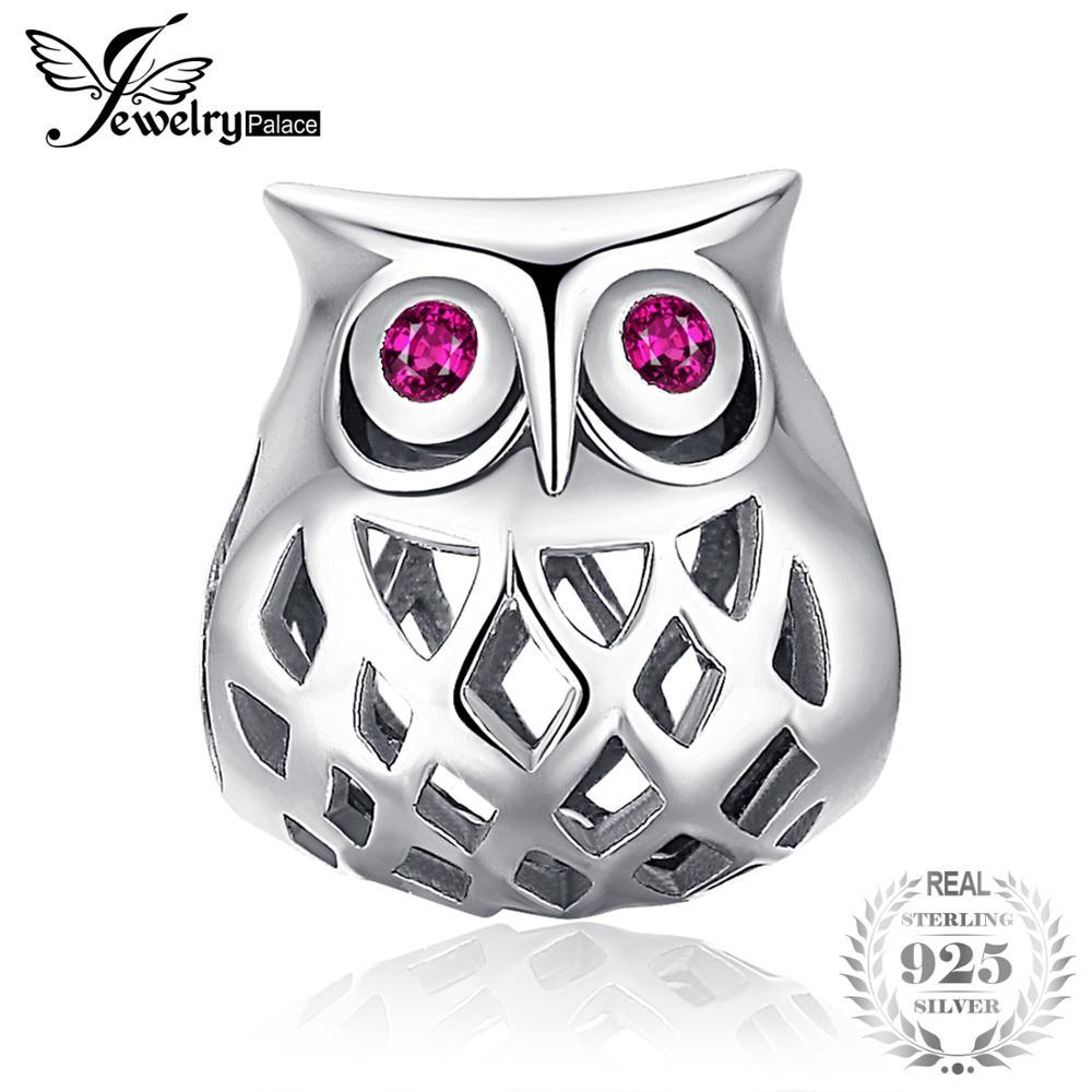 Owl Charm Beads Fit Bracelets Hot Selling Gift For Women