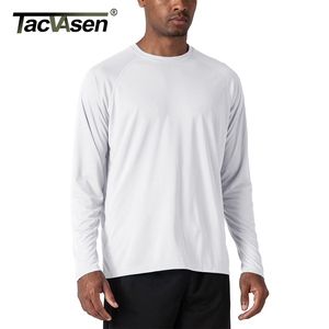 Image 2 - TACVASEN Mens Sun Protection T shirts Summer UPF 50+ Long Sleeve Performance Quick Dry Breathable Hike Fish T shirts UV Proof